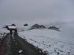 Winter am Hahnenmoospass (1956 m)