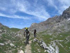 Trail am Col du Vallonnet