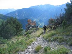 Trail nach Tende