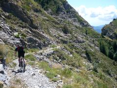 Trail am Monte Torragio